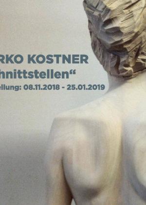 Bildhauer Marko Kostner - Auststellung Schnittstellen