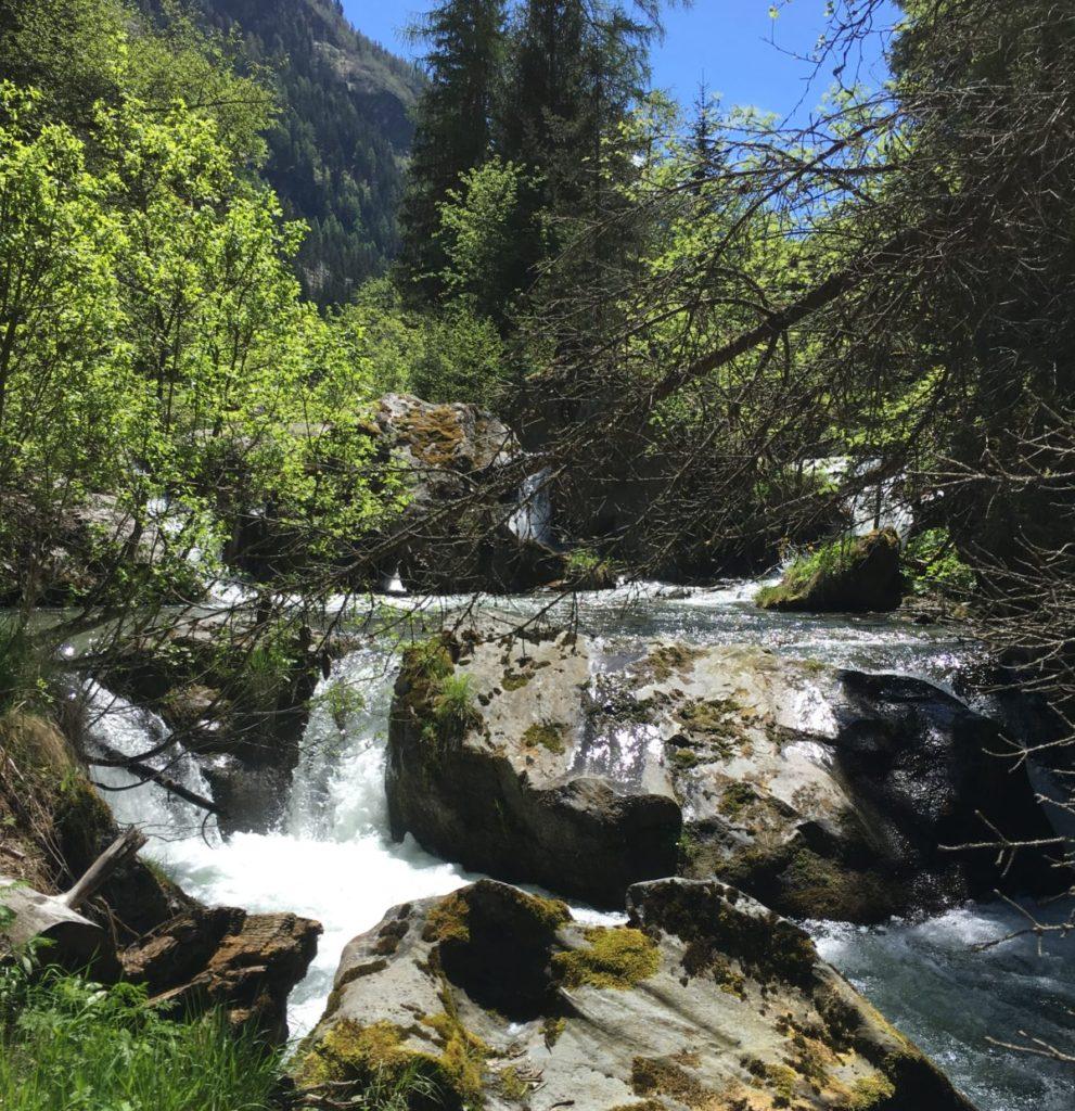 Flaggenbach fischen Tiroler Oberland
